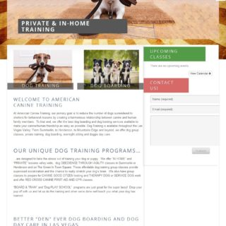 American Canine Training